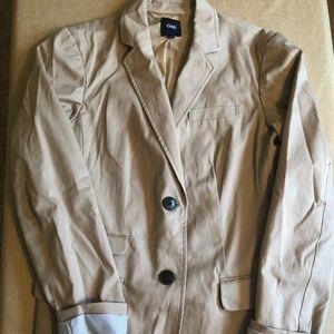 GAP Khaki Jacket - Size 6